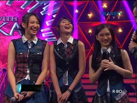 Melody, Shania & Ve JKT48 Main Games @ A Night With Judika Trans TV
