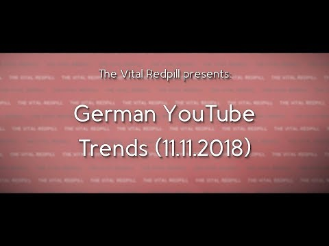 """German"" YouTube Trending Videos (11.11.2018)"