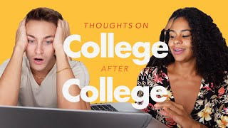 WHAT SHOULD OUR COLLEGE MAJORS HAVE BEEN? + THOUGHTS AFTER COLLEGE