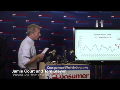 California Gas Prices Press Conference Aug 5 2015