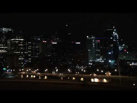 HDR-CX500 , Calgary Downtown night scene..