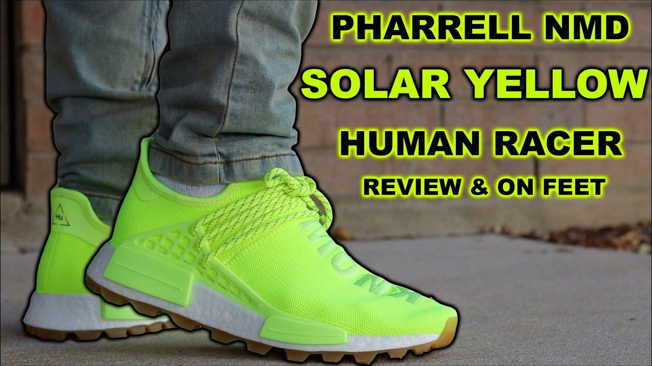 Pharrell x Adidas NMD HU Gum Solar