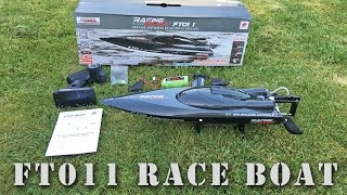 Fei Lun FT011 Brushless RC Boat Unboxing Review