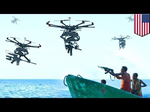 TIKAD drones: Duke Robotics unveils military drones equipped with machine guns – TomoNews