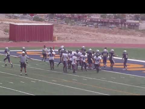 Coronado JV defense stops Franklin JV from scoring  2009-2010 EL Paso Texas