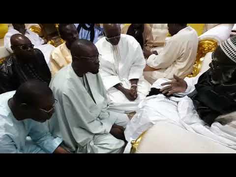 Visite de Ousmane Sonko à Touba, les conseils du khalif au leader du Pastef