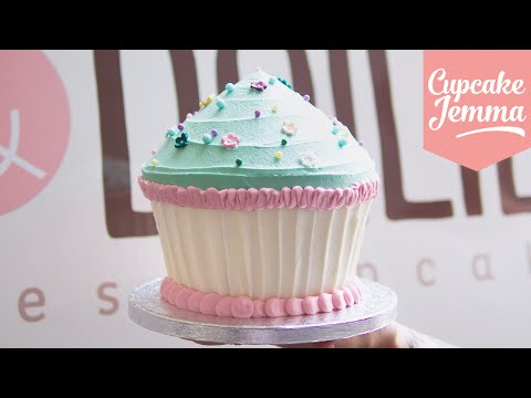 Generate Giant Cupcake Masterclass How-To | Cupcake Jemma Pictures