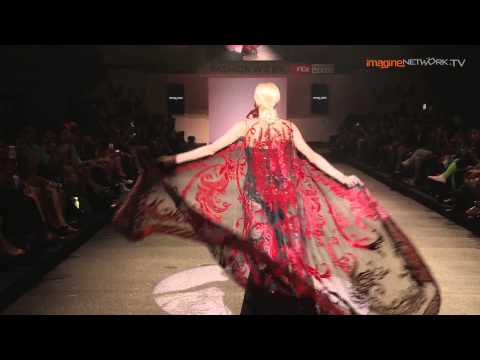 Michael Cinco's Collection at FIDé Fashion Weeks 2013