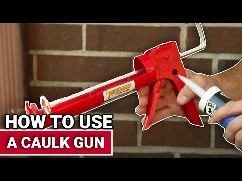 How To Use A Caulk Gun - Ace Hardware