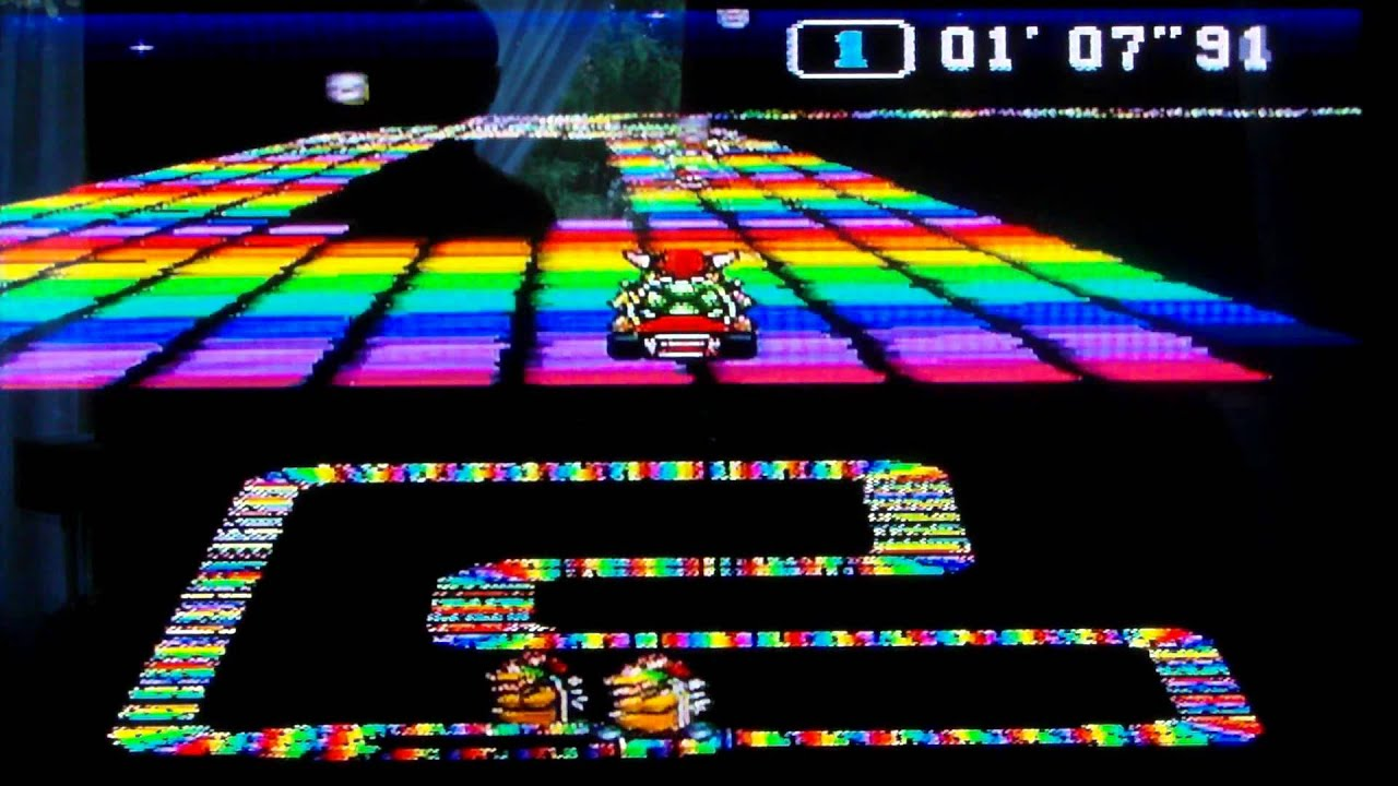 mario kart 64 rainbow road midi