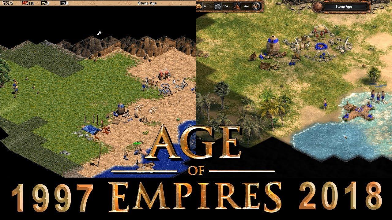 Age Of Empires Original Vs Remake Comparison (1997 Vs 2018