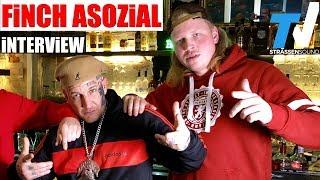 FiNCH ASOZiAL Interview mit MC Bogy - Dorfdisko   TV Strassensound