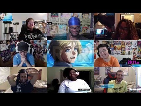 Attack on Titan Season 3 Episode 22 Reaction Mashup | Shingeki no Kyojin S3 Part 2 Eps 10 Reaction