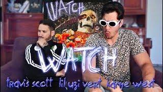 Travis Scott - Watch Feat. Lil Uzi Vert & Kanye West - Produit par Pi'erre Bourne (Première Ecoute)