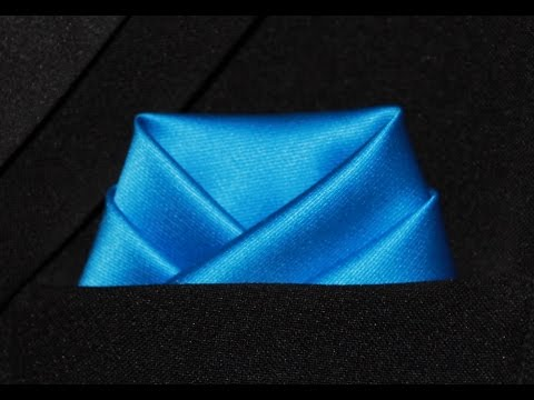 How To Fold Pocket Square Op Fold
