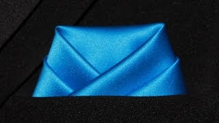 How To Fold a Pocket Square Scallop Fold