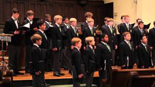 The Georgia Boy Choir - I Will Sing With the Spirit