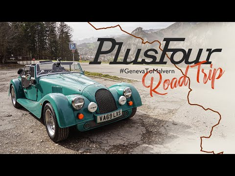 Geneva To Malvern Road Trip In The All-new Morgan Plus Four