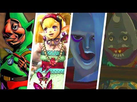 Evolution of Weird Legend of Zelda Characters (1986 - 2019)