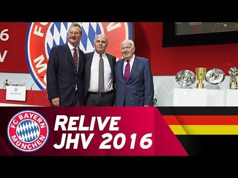 ReLive   FC Bayern Jahreshauptversammlung 2016