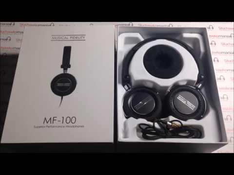 Musical Fidelity MF-100 Słuchawki nauszne - unboxing test recenzja