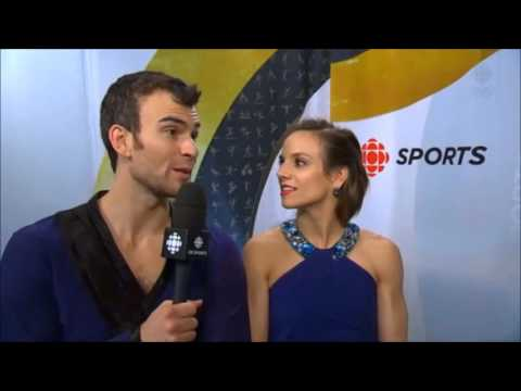 Interview with Meagan DUHAMEL / Eric RADFORD - 2016 World Championships (CBC)