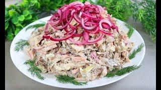 Мега-мясной салат