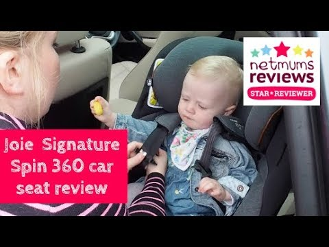 joie signature spin 360 car seat review youtube. Black Bedroom Furniture Sets. Home Design Ideas