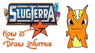 How To Draw Infurnus (SLUGTERRA)