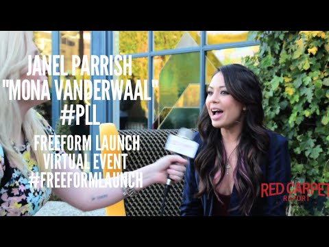 Talking to Janel Parrish #PLL at the Freeform Launch Virtual Event