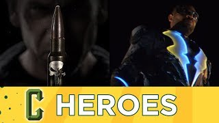 The Punisher and Black Lightning Trailer Reviews - Collider Heroes