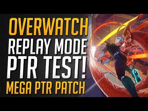 REPLAY MODUS JETZT AUF PTR!! | Neues Feature Enthüllt & Spielbar ★ Overwatch Deutsch