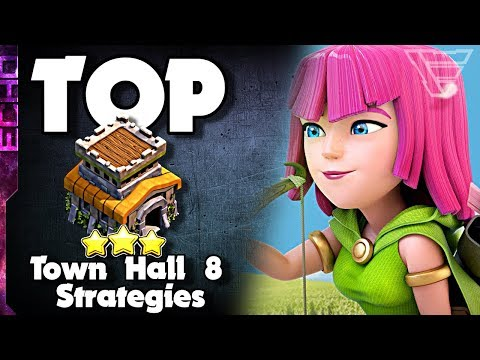 Top 3 Best Town Hall 8 Attack Strategies In Clash Of Clans