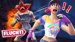 Wir ENTKOMMEN dem STRANGER THINGS Monster in Fortnite!