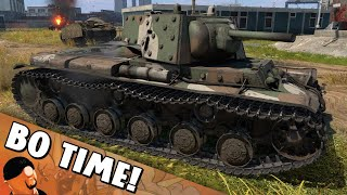 """War Thunder - KV-1B """"My cheeks are not for you!"""