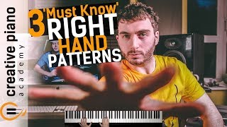 3 'ESSENTIAL' Right Hand Patterns For Piano - PERFECT For Beginners