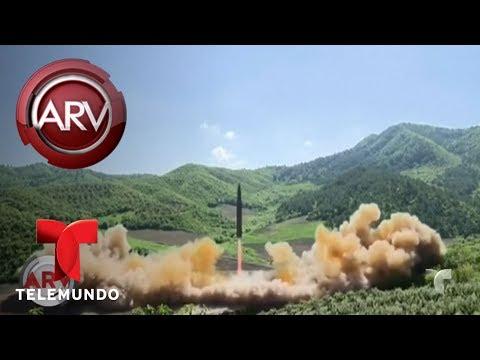 Tensión entre Estados Unidos y Corea del Norte | Al Rojo Vivo | Telemundo