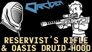 Fallout 3 Unique Weapons - Reservist's Rifle & Oasis Druid Hood thumbnail