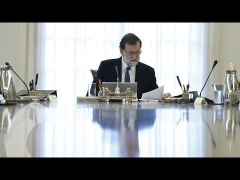Rueda de prensa de Rajoy posterior al Consejo de Ministros