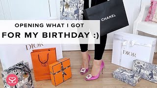 Opening What I Got For My Birthday :)  /  Luxury Haul
