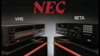 VHS -vs- Beta commercial 1984