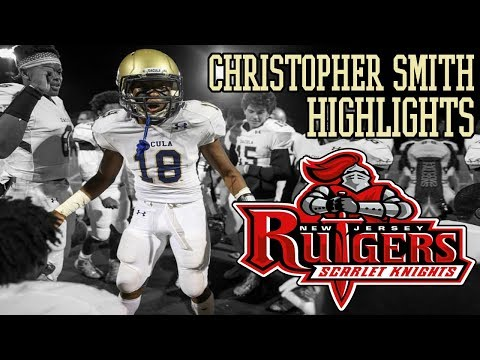 ONE OF THE BEST LINEBACKERS IN GEORGIA'S 2019 CLASS!! Christopher Smith Football Highlights  Dacula