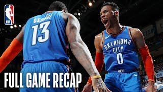 NETS vs THUNDER | Russell Westbrook Registers His 26th Triple-Double | March 13, 2019