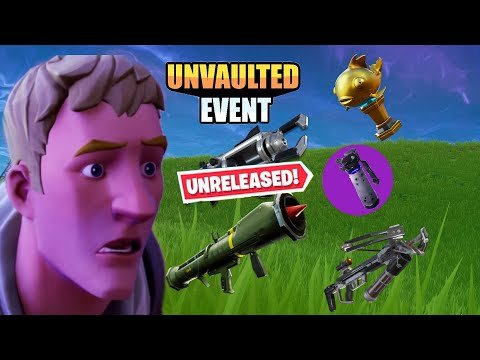 Get Vaulted Weapons In Fortnite Chapter 2 Season 2!