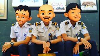BEGINIH JADINYA !! Upin & Ipin Sudah Besar - Jadi Pilot Kak Ros Kaget, Versi Parody !!