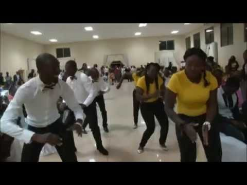 Jelina Wedding Dance Highlights July 2014 - Zambian wedding