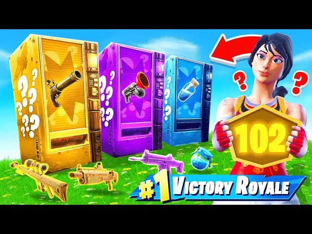 Vending Machine ONLY POP-UP CUP *NEW* Game Mode in Fortnite Battle Royale
