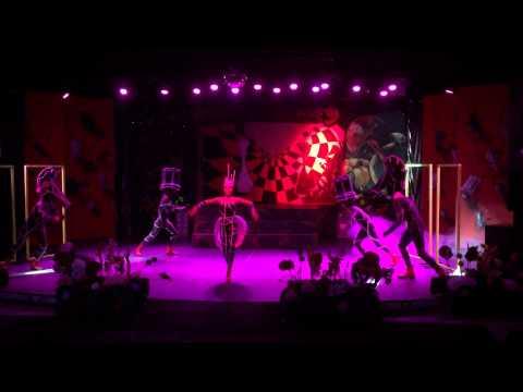 Club Salima Alice In Wonderland show Part 6