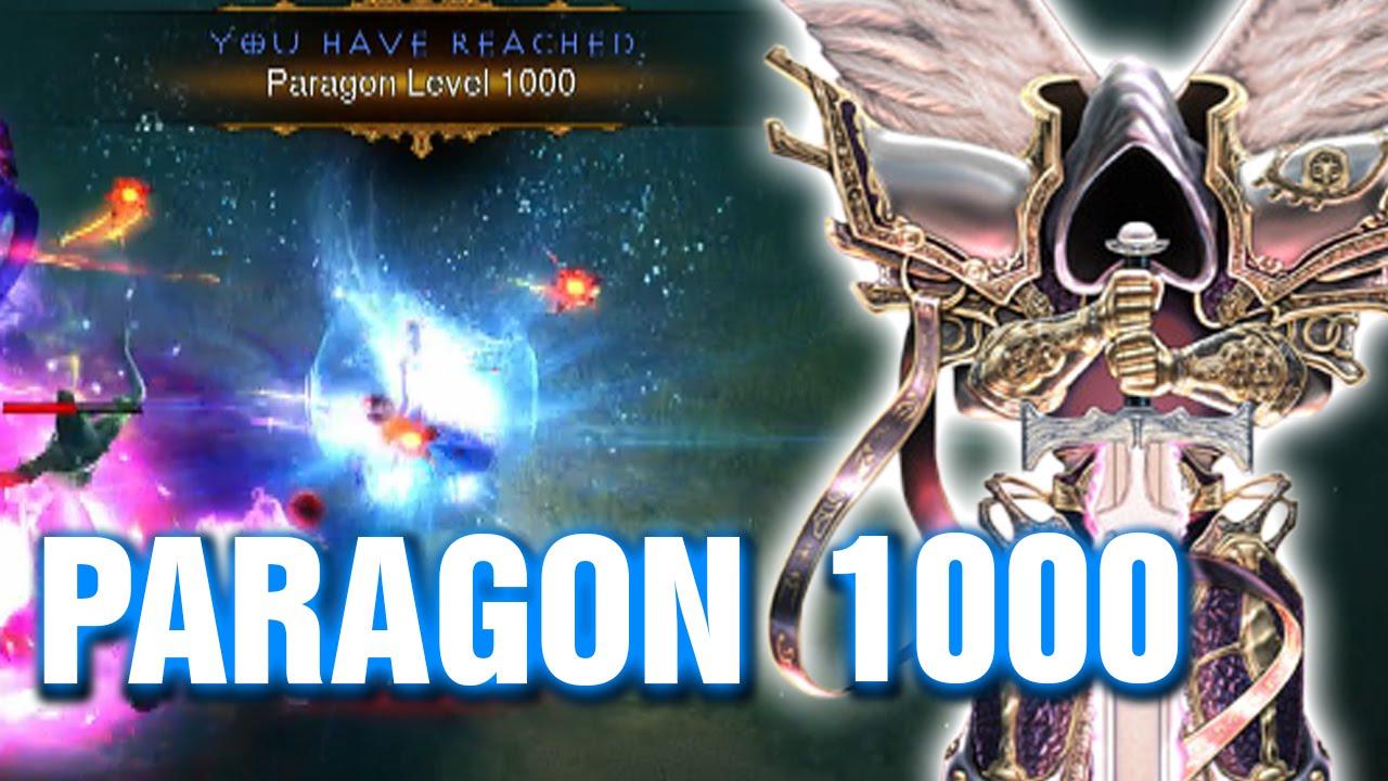 PARAGON 1000 WIZARD XBox One Diablo 3 Reaper Of Souls YouTube