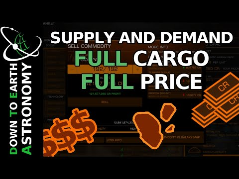 Mining: Sell Full Cargo At Full Price | Elite Dangerous Supply And Demand